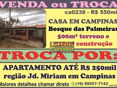 Bosque Das Palmeiras, Campinas - SP
