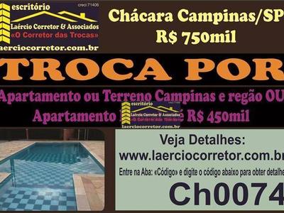 Chácaras Cruzeiro Do Sul, Campinas - SP