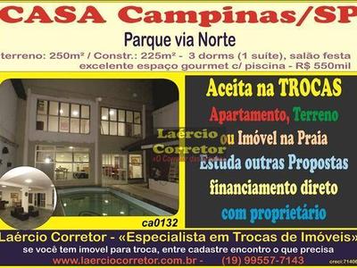 Parque Via Norte, Campinas - SP