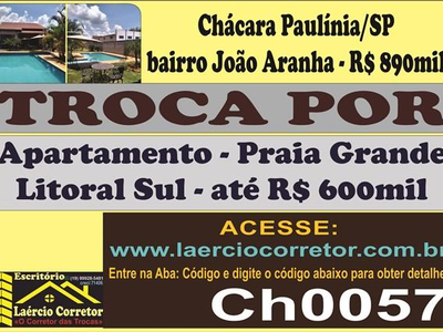João Aranha, Paulínia - SP